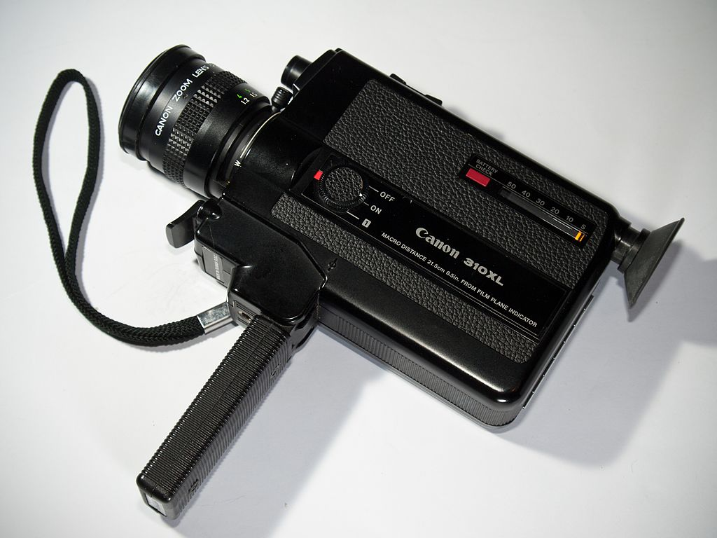 canon super 8mm camera